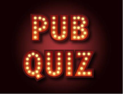 2 December '21 – Pub Quiz